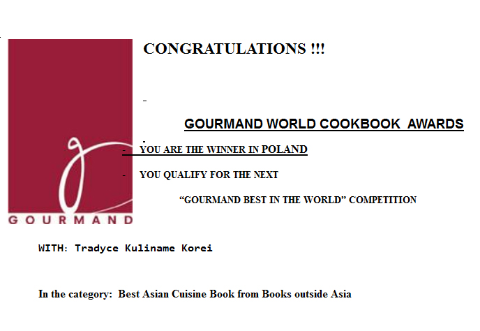 Gourmand World Cookbook Awards