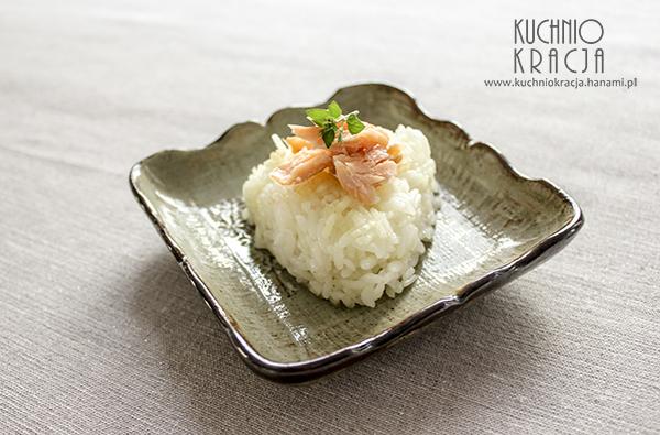 Onigiri z łososiem, Fot. Hanami