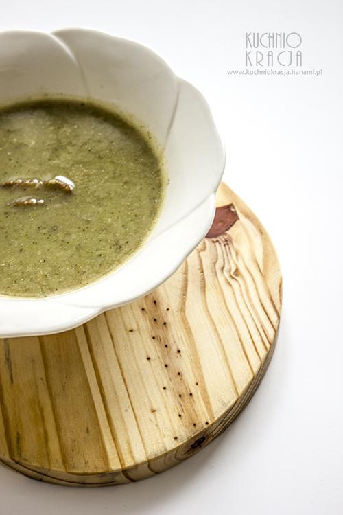 Krem z topinambura i brokułów, Fot. Hanami
