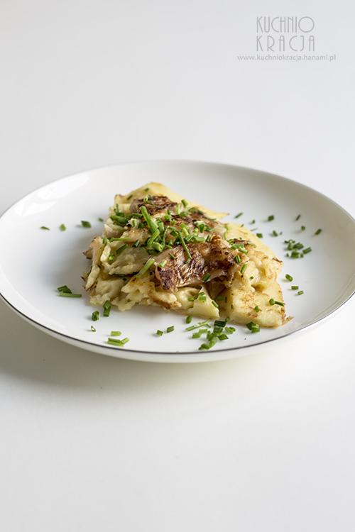 Jeon z polskim kimchi