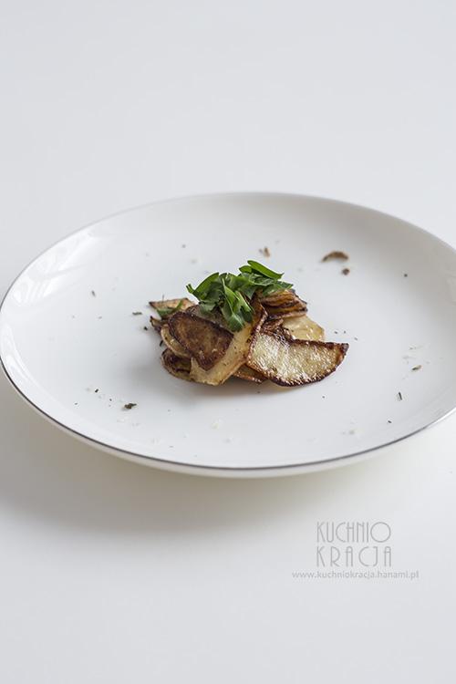Ziemniaczane talarki z sosem sojowym, Fot. Hanami