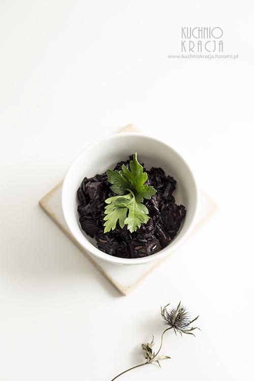 Czarny ryż z indykiem i warzywami, Fot. Hanami