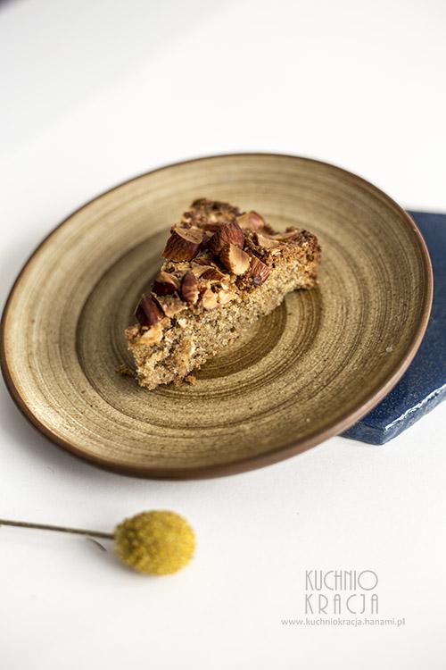Ciasto z migdałami i siemieniem lnianym, Fot. Hanami