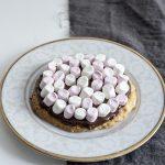 Mazurek z czekoladą i piankami