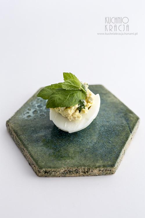 Jajka z ziołami, Fot. Hanami