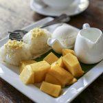 Khao niew mamuang – kleisty ryż z mango