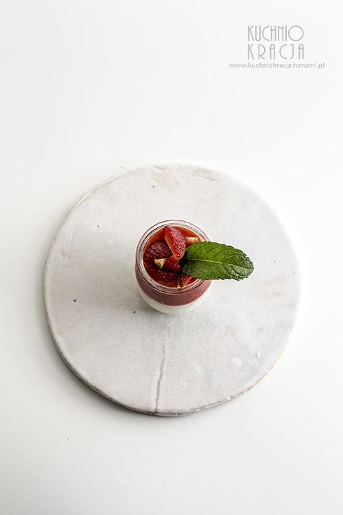 Kuleczki tapioki z musem truskawkowym, Fot. Hanami