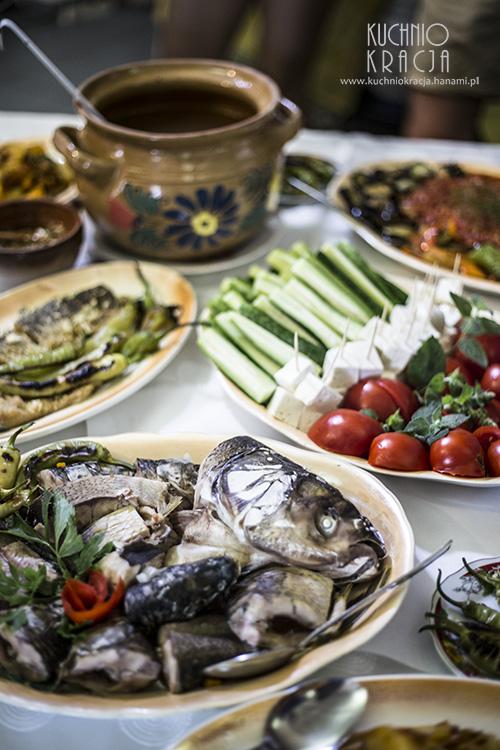 Zupa rybna, La Gura Cuptorului Guest House, Fot. Hanami