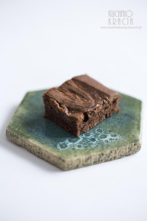 Ciasto czekoladowe z kajmakiem, Fot. Hanami