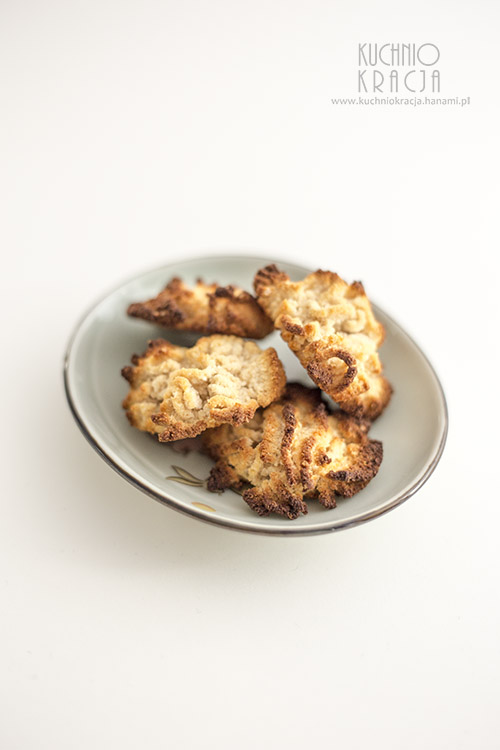 Trzyskładnikowe ciastka kokosowe, Fot. Hanami