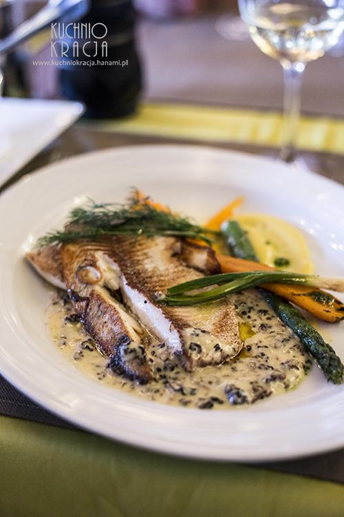 Ryba w sosie grzybowym, Ravintola Trappi