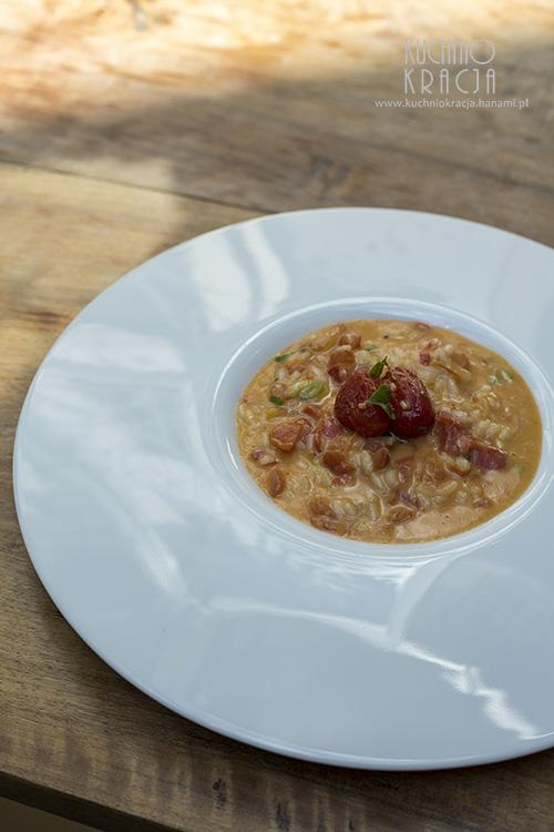 Pomidorowe risotto, Restauracja Zum Löwen