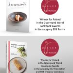 """Deserownik"" i ""Polish Culinary Paths"" w konkursie Gourmand World Cookbook Awards"