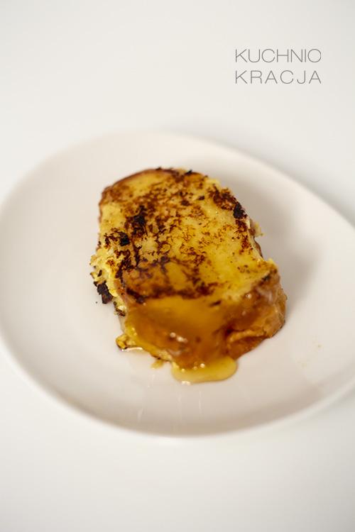 Pieczona chałka z miodem (pain perdu), Fot. Hanami