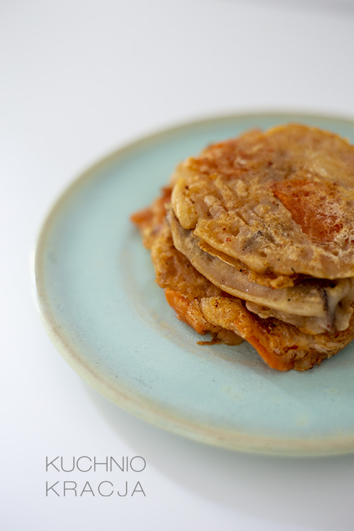 Placki z ostrym kimchi, Fot. Hanami